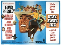 1968 <em>Stay Away, Joe</em> British Quad Movie Poster - Starring Elvis Presley